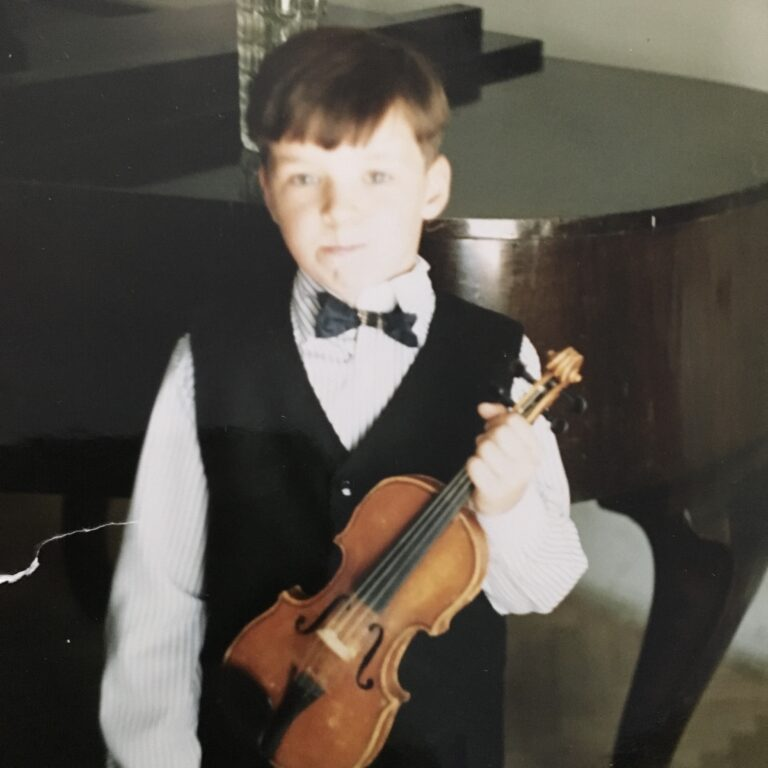 Electro Violinist Svet began playing the violin when he was just 3 years old